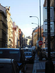 Transit in Prague by DrewLyons
