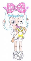 Sheep girl Evelyn by macaustar