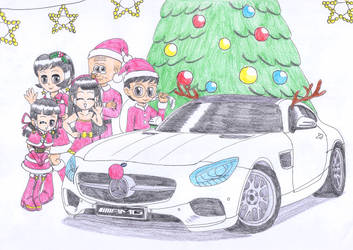 Racing team's Christmas party by macaustar