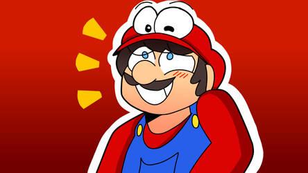 Mario and Cappy~! by davidtoonsanimations