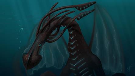 Dragon-squid by Ren-ail