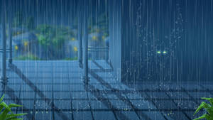 Under rain by Ren-ail