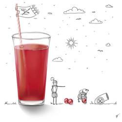 Cranberry juice by Ren-ail