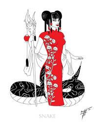 Japan Snake by Ren-ail