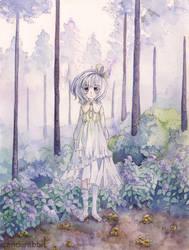 Forest Wanderer by UsagiYogurt