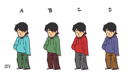 Calvin Color Study by dadothegreat