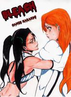 Orihime and Loly by gamzekarakoc