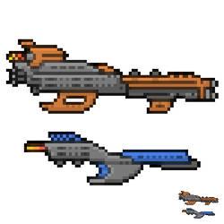 2 Passenger space ships by LeetZero