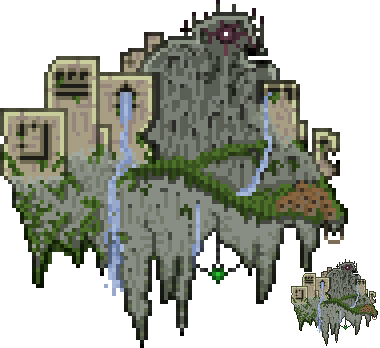 Floating Island by LeetZero