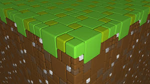Grass Block v2 [1080p Wallpaper] by LeetZero