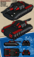 Machona tank by LeetZero