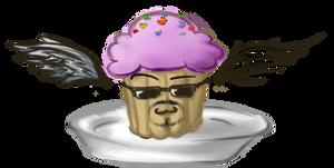 Undercover cupcake by LeetZero