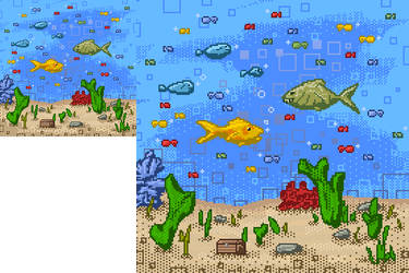 Fishtank Steam Avatar by LeetZero