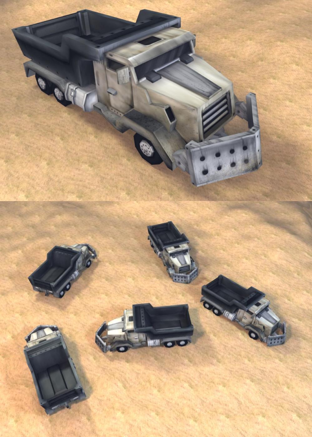 Command and Conquer Generals - GLA Bomb Truck Text by LeetZero
