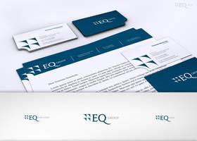 EQ Group Logo and stationary by Shewa06