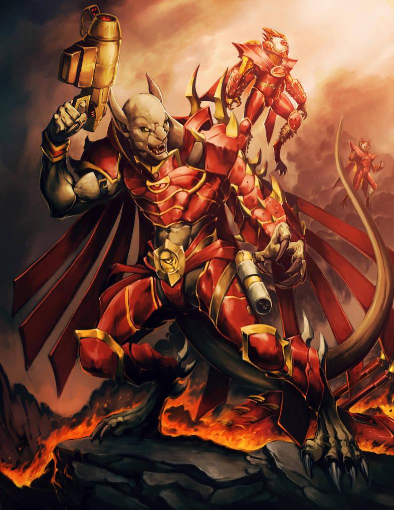 RIFTS Arkhon Commander. by ffranceschi
