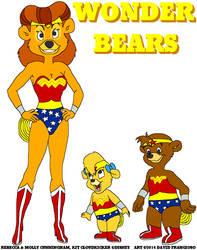 Wonder Bears by tpirman1982