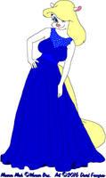 Minerva's Blue Dress 2 by tpirman1982