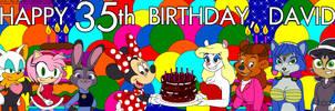 Minky 35th Birthday by tpirman1982