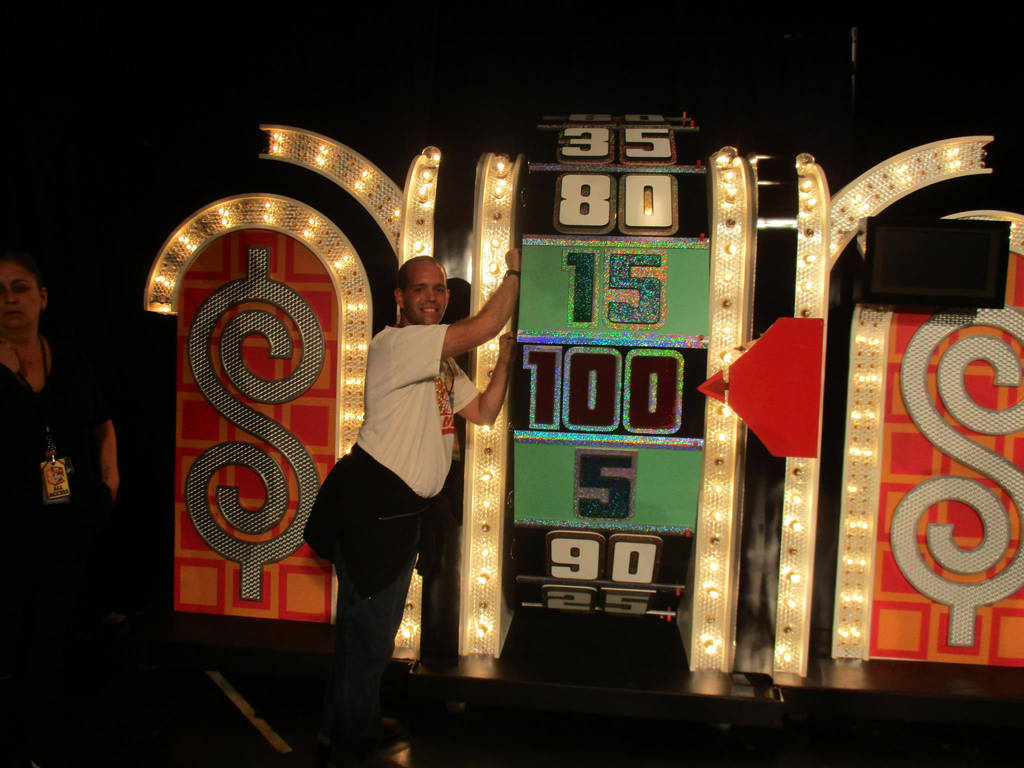 Me Spinning The Wheel at The Price is Right Live! by tpirman1982