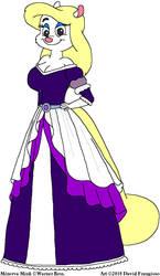 Minerva's Purple Dress 2 by tpirman1982