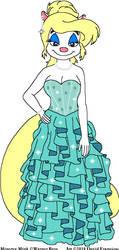 Minerva's Aqua Dress by tpirman1982