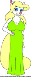 Minerva's Green Gown 2 by tpirman1982