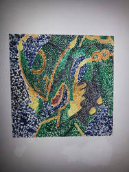 Pointillism Mega Rayquaza by Starzway