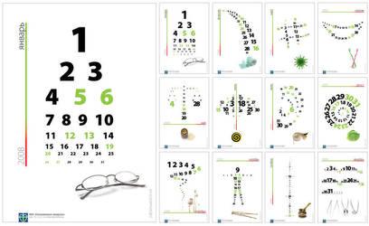 OL. Calendar 2008 by xenOnn