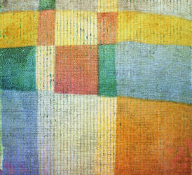 Vintage colorful fabric by yko-54