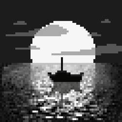 #octobit B/W Sunset by Edenvale