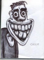 Creepy - Biro by Jamdeski