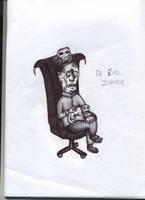Dr. Evil Zombie - Biro by Jamdeski