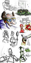 Doodles 1 by Jamdeski