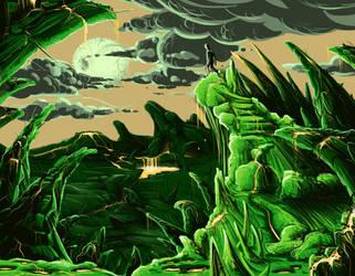 Alien World by Jamdeski