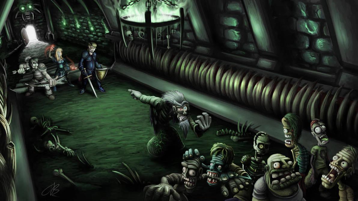 Assault on the Necromancer by Jamdeski