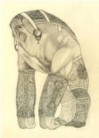 Elcor - sketch by Odrobinka