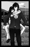 shoujo couple by LittlePan