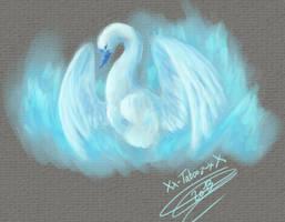 Cygne bleu by Xx-tatooz-xX