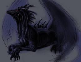 The Black Dragon by Xx-tatooz-xX