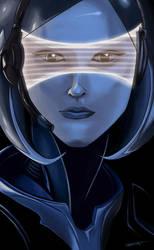 EDI | Mass Effect by Wisperr