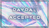 Paypal Accepted by jifypop