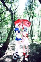 Sakuya Izayoi and Remilia Scarlet by lina-no-uta