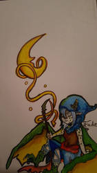 Mystic moon chibi by TheFadingDragon
