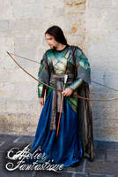 Lord of the Rings elfic leather armor by AtelierFantastique