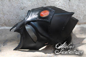 Leather mask Surt by AtelierFantastique