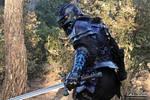 Blue black armor by AtelierFantastique