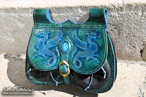 Chimaera peacock color bag -3 by AtelierFantastique