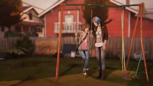 Life is Strange ~ Max and Chloe by Mary-O-o