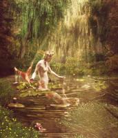 Mermaid's Mirror I by JinxMim